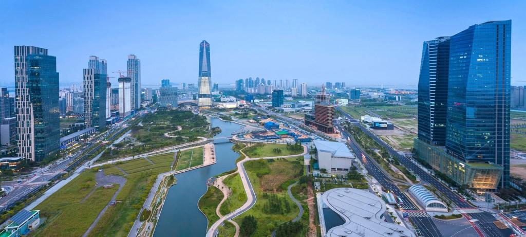 Korea_Songdo_buesiness-hub