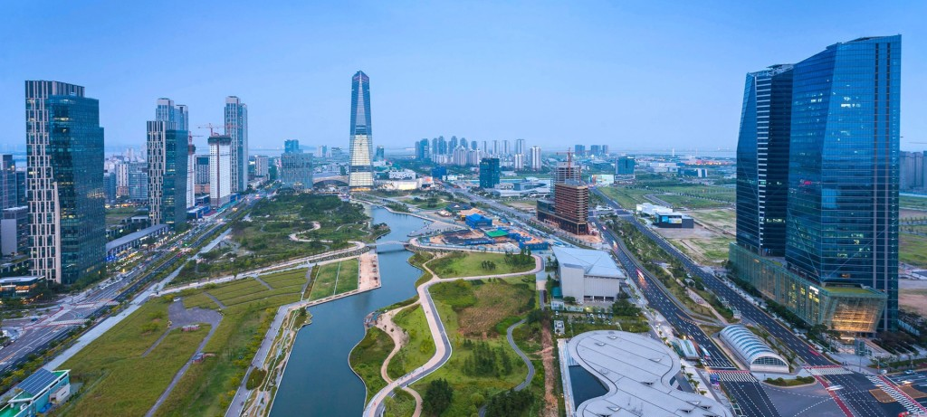 Korea_Songdo_buesiness-hub