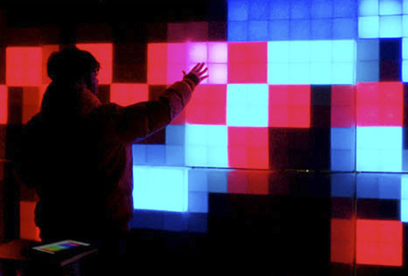 Big LED-wall in public space