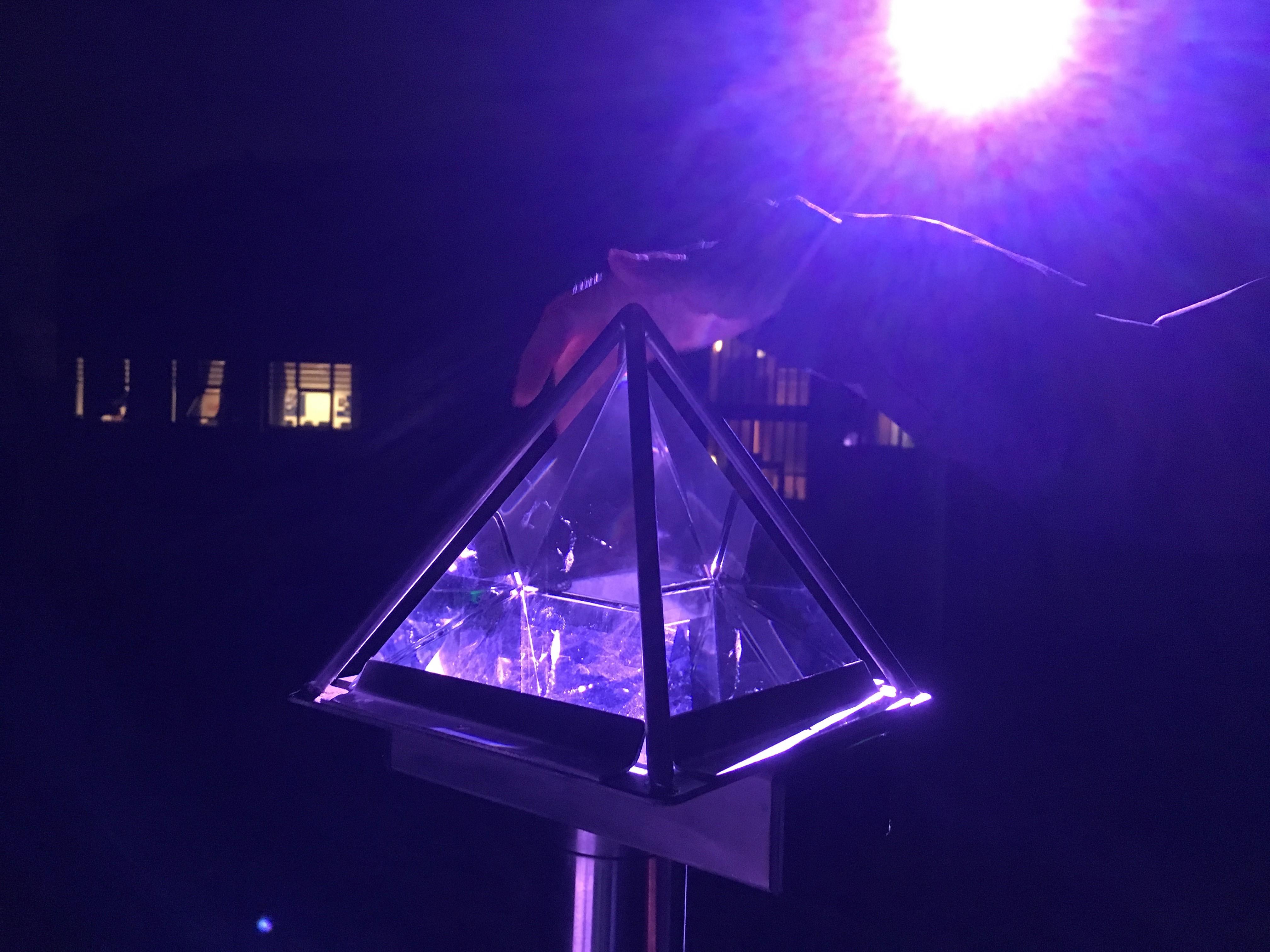 Interactive light & sound at playground